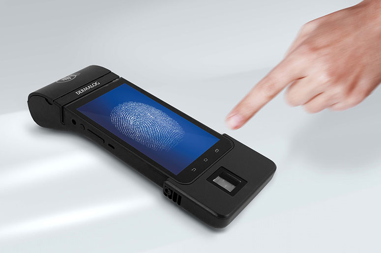 Biometric POS 4000 - Mobile Devices - Hardware - Products - DERMALOG