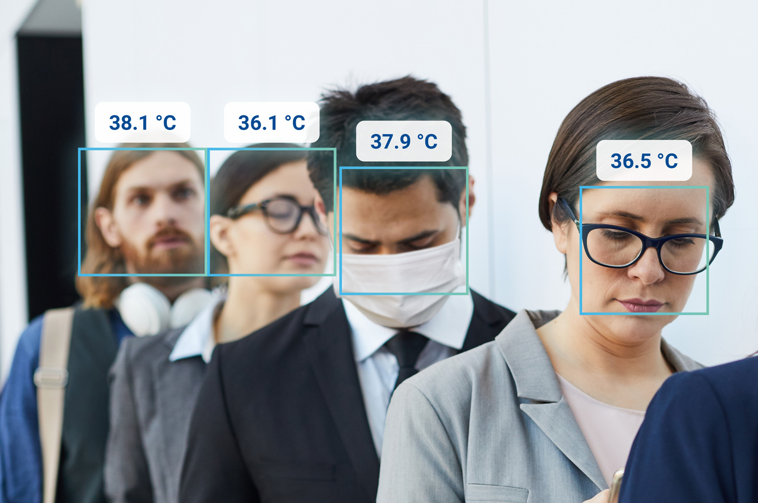 Increasing Safety with Biometric Temperature Screening
