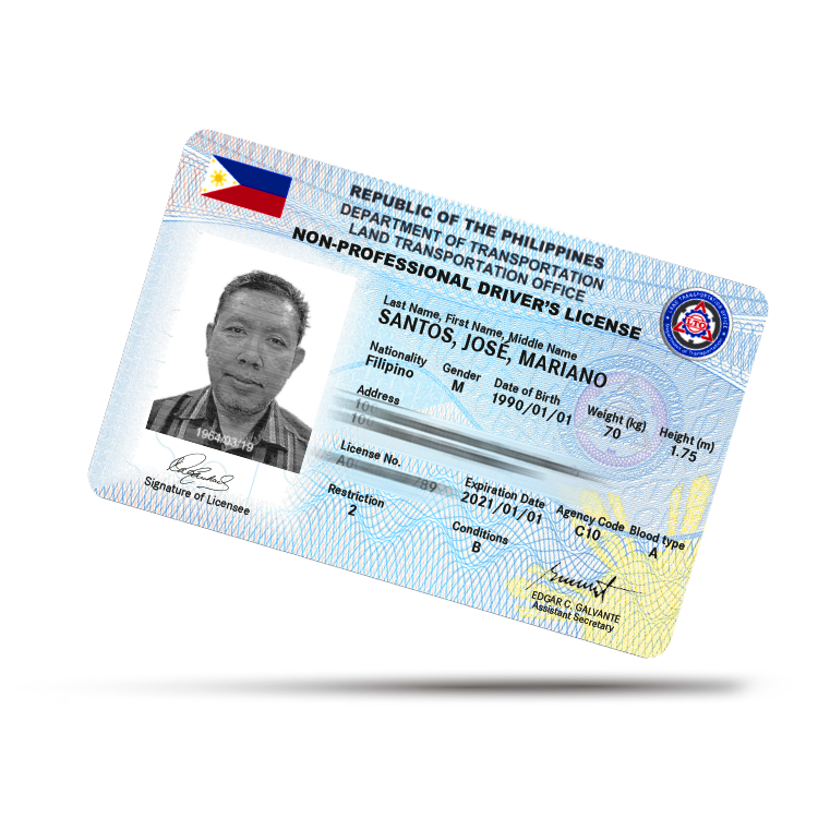 drivers license expiration date philippines